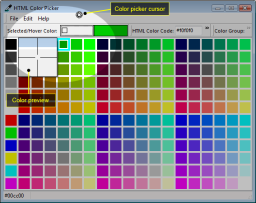 Selecting color