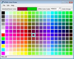 Continuous color